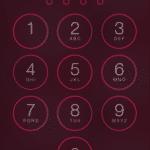 Wachtwoord instellen iPhone.