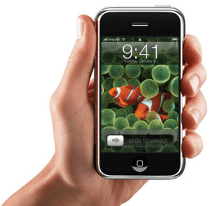 The first Apple iPhone 2007