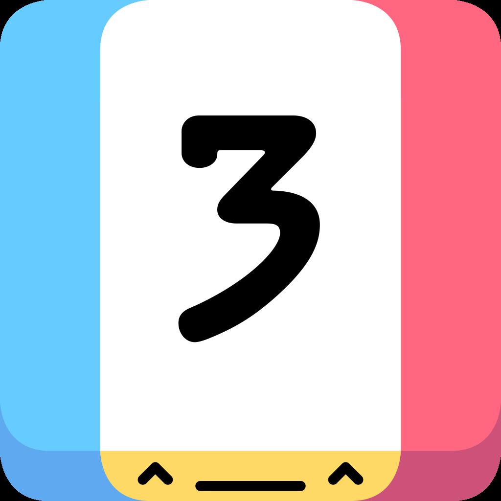 Threes!_app_icon