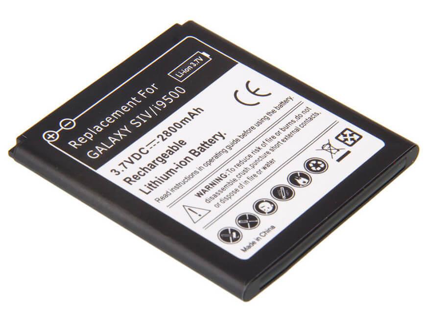 Nieuwe telefoon batterij