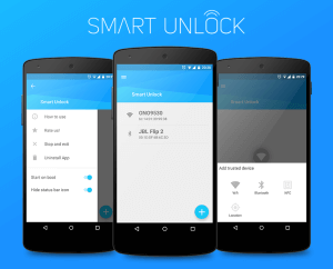 Android smart unlock
