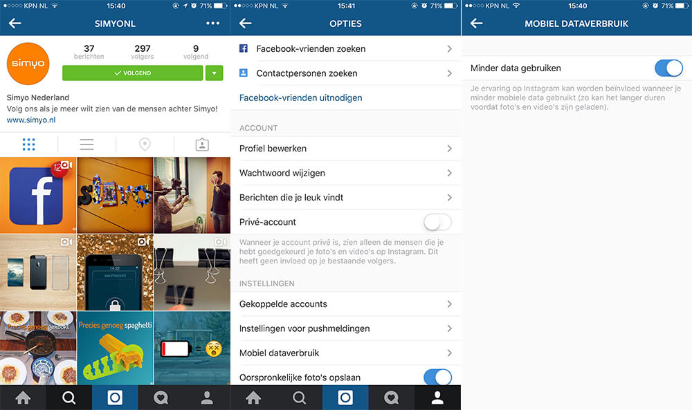 iOS - Instagram