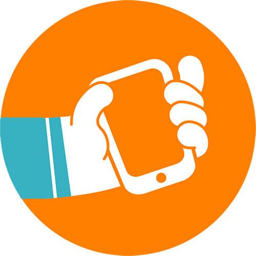 back-up smartphone