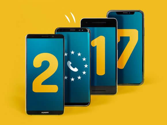 trends 2017 Sim Only Simyo