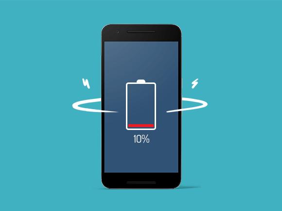 batterij bijna leeg