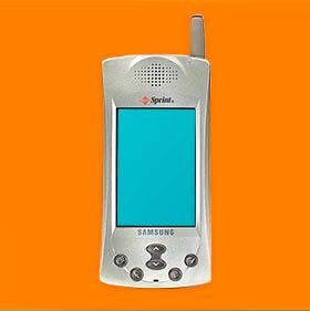 eerste samsung sim only telefoon samsung sph-i300 simyo