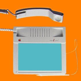 eerste apple telefoon tablet 1983 simyo