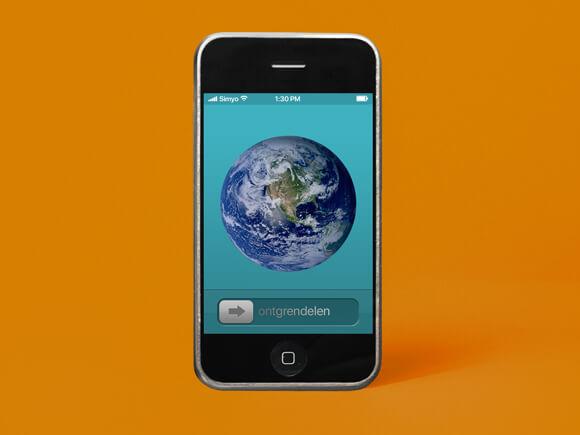 eerste iphone apple sim only simyo