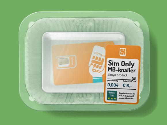 goedkope sim only simyo