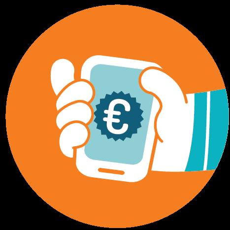 hoe werkt contactloos betalen met telefoon