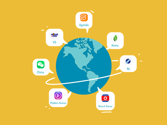 wereld apps