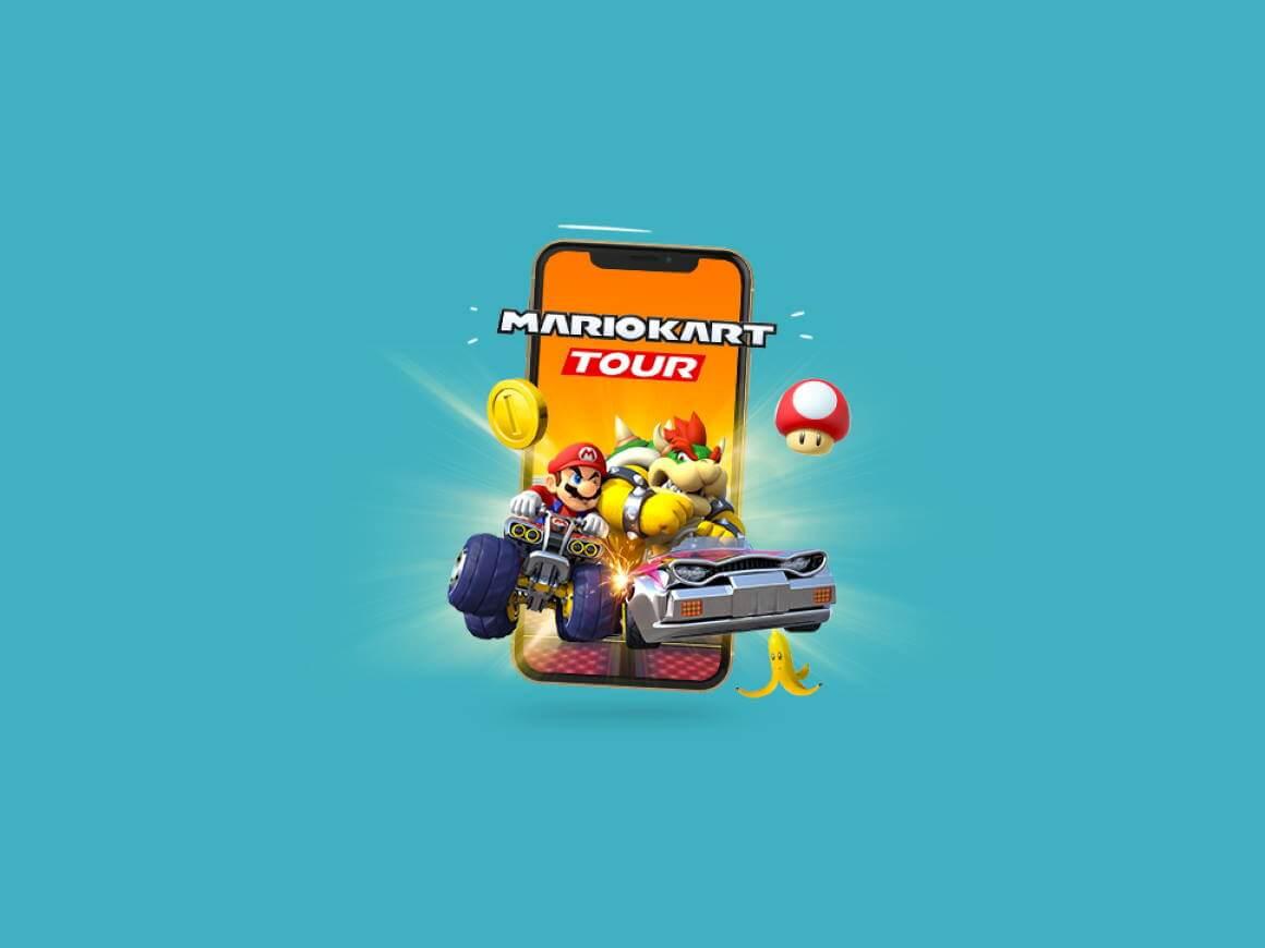 De Mario Kart op mobiel is hier!