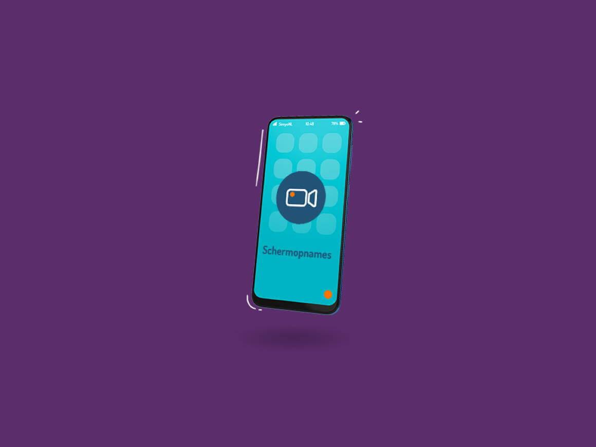 Hoe maak je een schermopname op je telefoon?