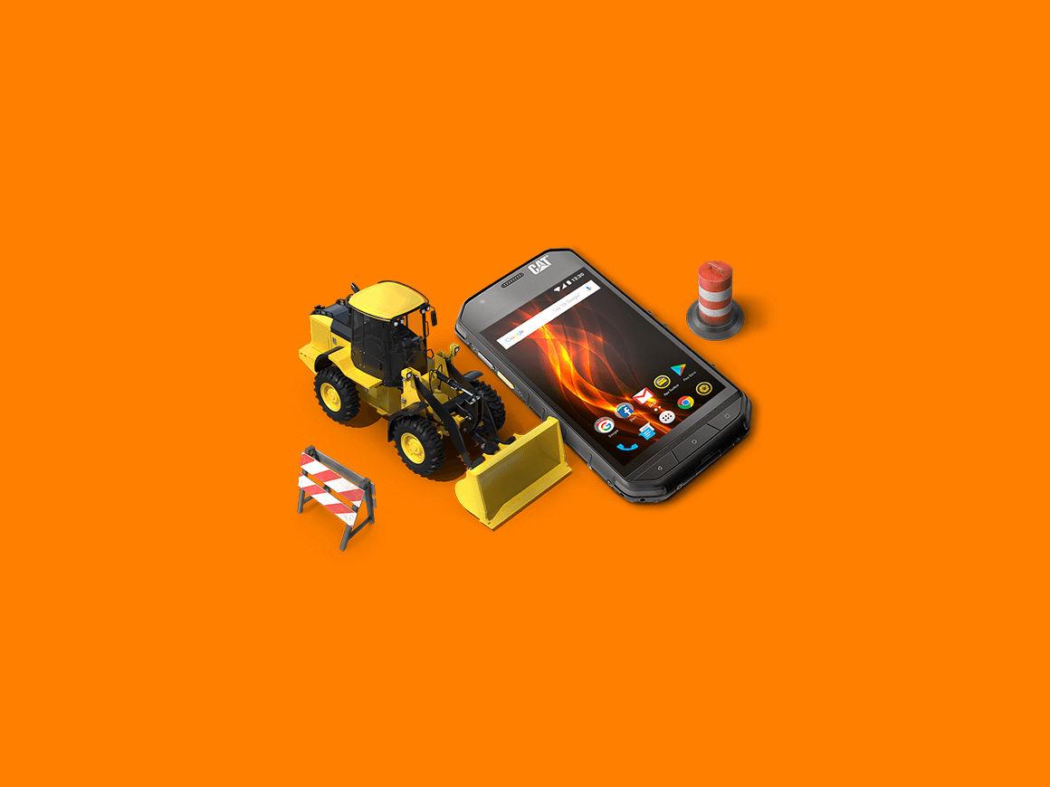 bouwtelefoons stevige telefoons
