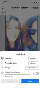 Facebook berichten verwijderen