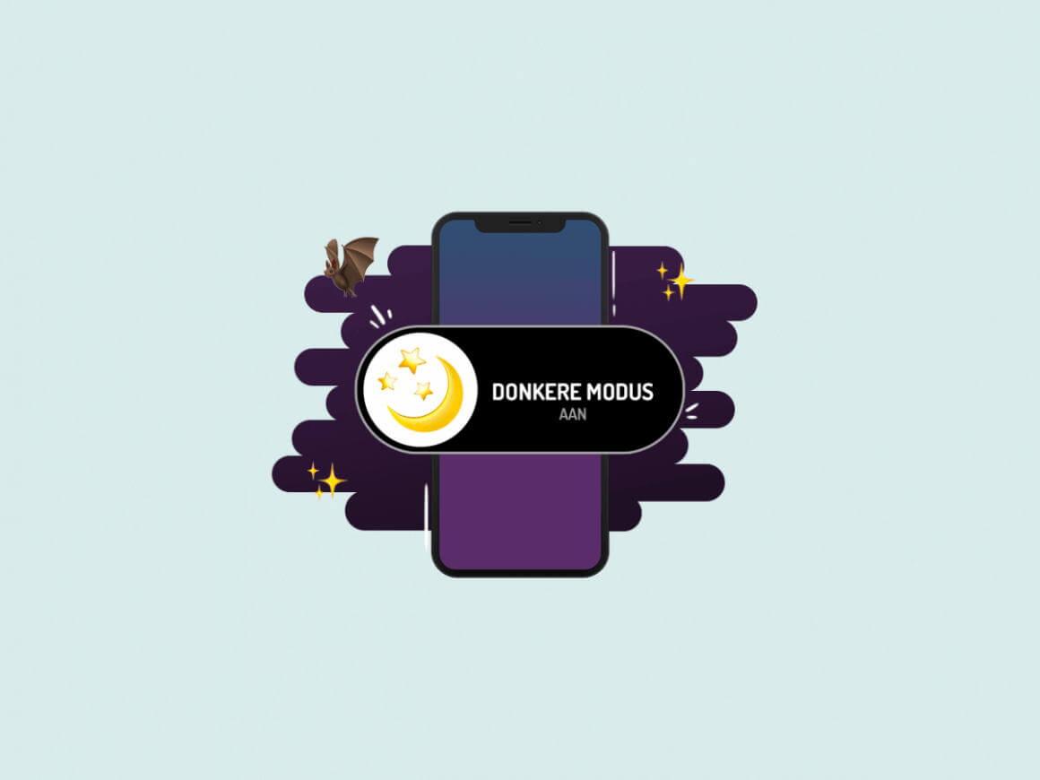 Darkmode instellen op je telefoon en in apps