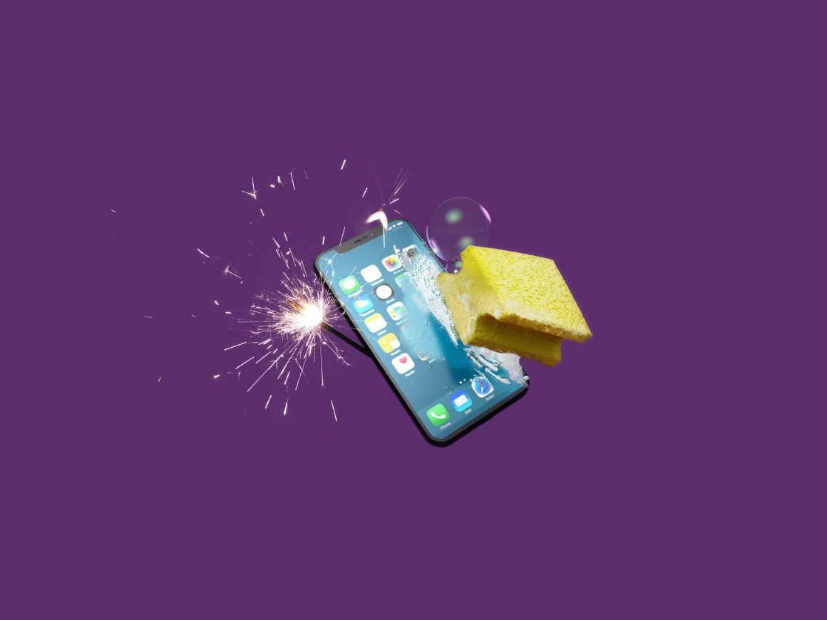 Schoon je telefoon op voor het nieuwe jaar!